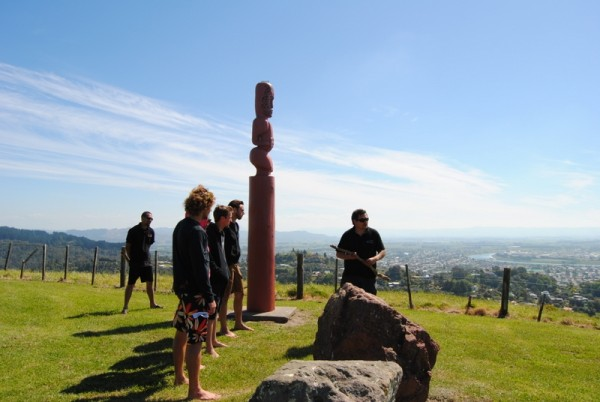 Legends Are Shared At The Ancient Home Of Toikairākau.